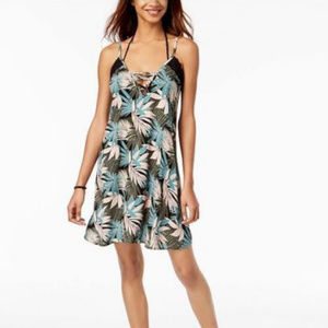 NWT! Roxy Tropical Swimsuit Cover Up Dress NEW!